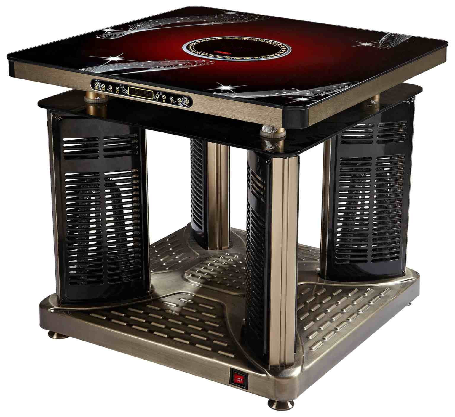 Electric Table Warmer ~ Multi function electric warming table eight surface okes