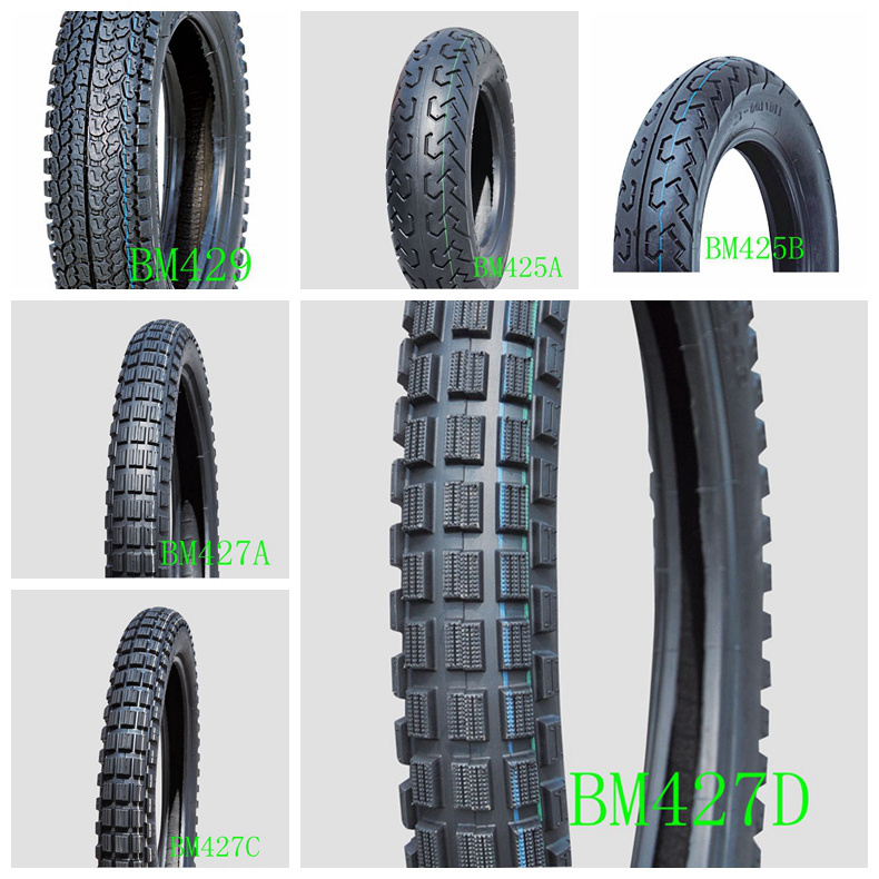 Bywell Brand Motorcycle Tyres Tires with Tvs Technology