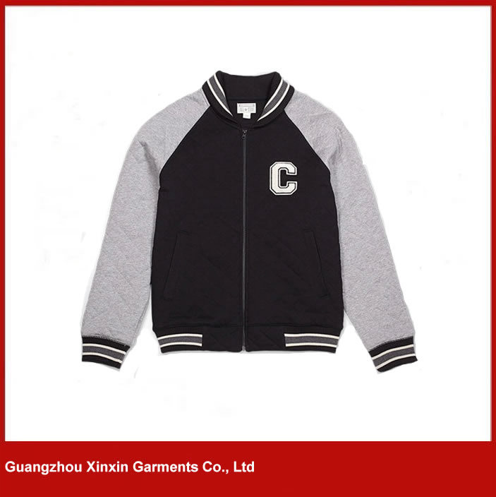 Custom Fashion Design Zipper up Cheap Cotton Hoodies for Men for Sports (T08)