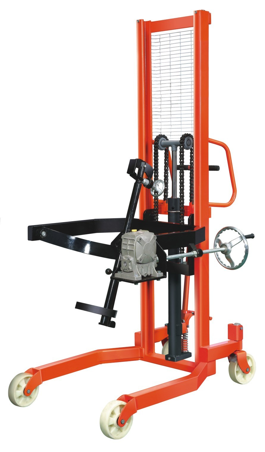 250-350kg Oil Drum Manual/Oil Drum Carrier Hand Pallet Truck