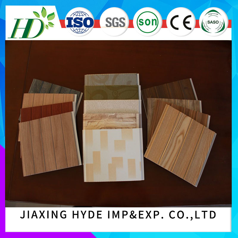 2017 Hot Stamping PVC Panel for Ceiling and Wall Decoration Waterproof Material (RN-07)