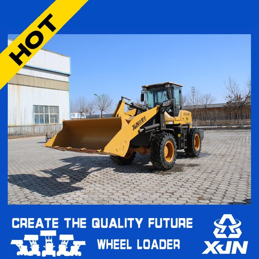 2 Tons Small Wheel Loader From Chinese Supplier
