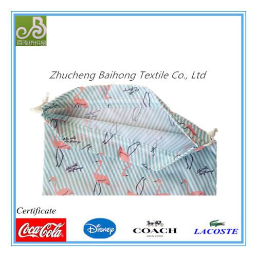 Print Oxford Drawstring/Shoe Bag