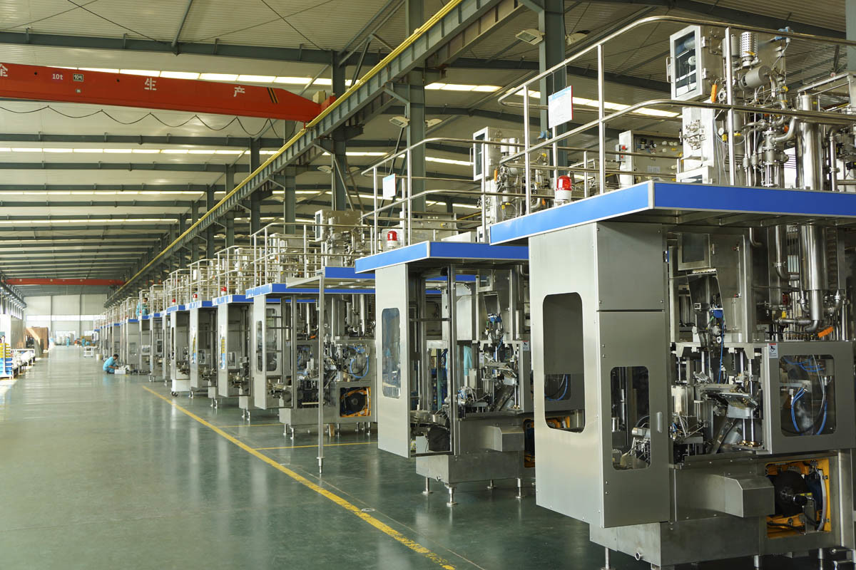 China Bihai Aseptic Carton Filling Machine (BH6000)