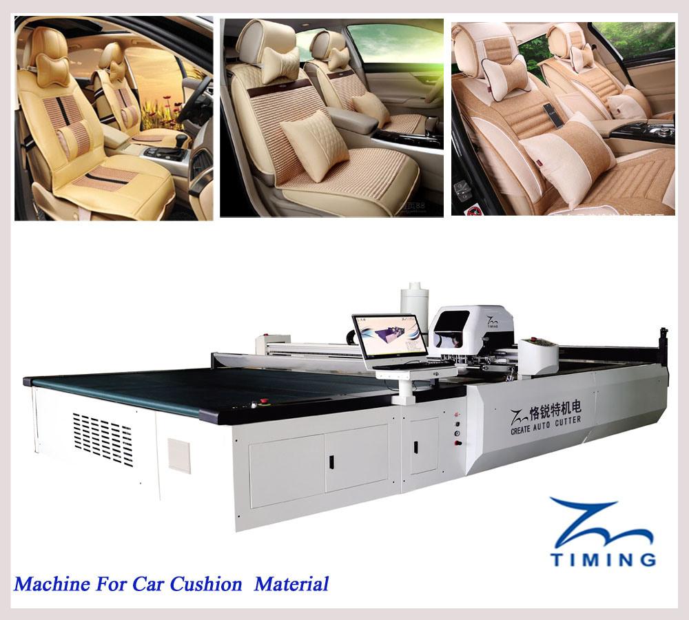 Automatic Industrial Fabric Cutting Machine