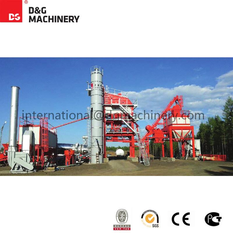 140 T/H Hot Mixed Asphalt Mixing Plant / Asphalt Plant for Road Construction / Asphalt Plant for Sale