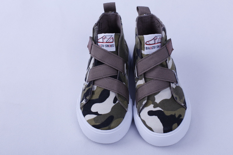 Vulcanized Shoes for Kids Rubber Outsole Bz1608