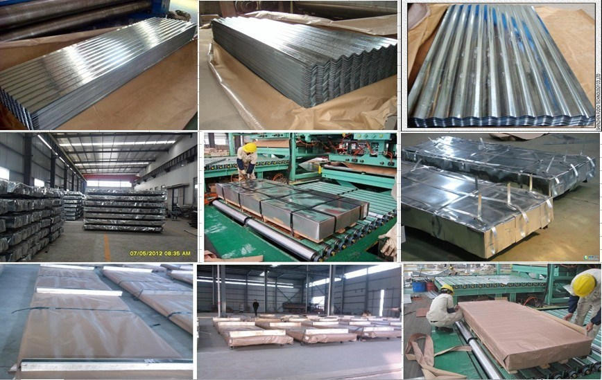 Galvanized Steel Coil/Gi/Galvanized Corrugated Roofing Sheet