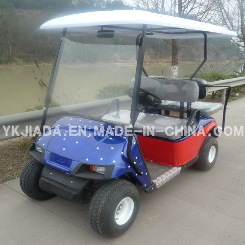 Chinese 4 Seat Electric Sightseeing Golf Kart (JD-GE501B)