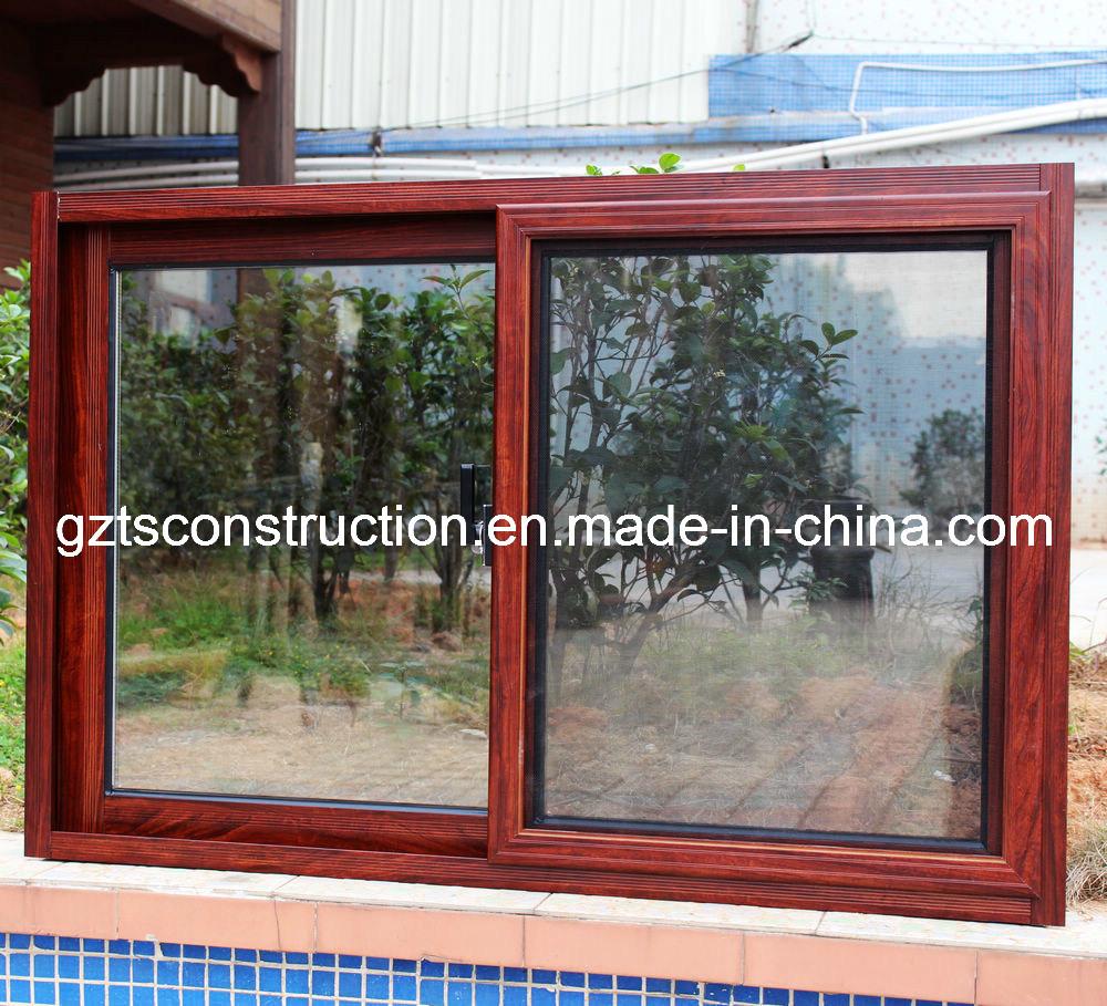 China Aluminum Window : China aluminum cheap sliding window with mosquito screen