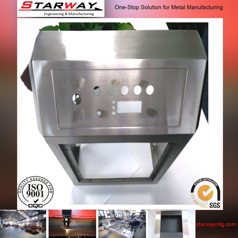 Custom Structural Steel Sheet Metal Box Fabrication