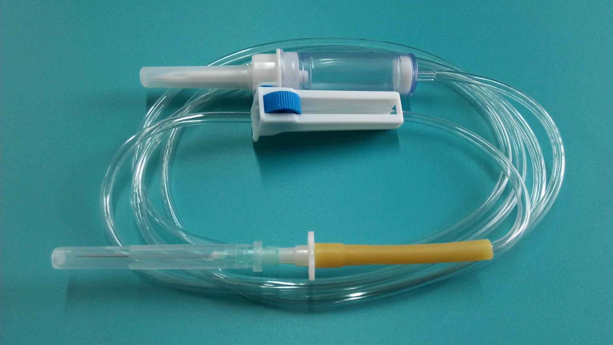 Disposable Infusion Set with Hypodermic Needle (TJM-IV-02-1)