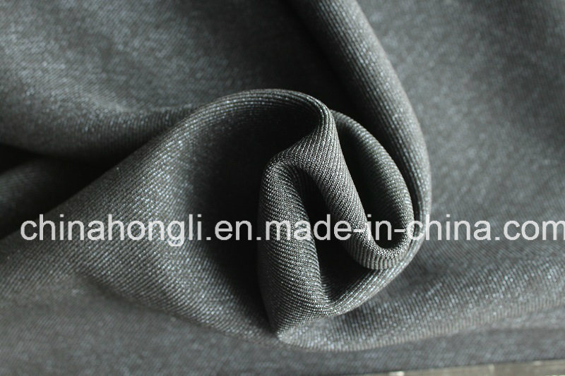 T/R/Sp Cationic, Polyester Fabric for Garment, Denim Look