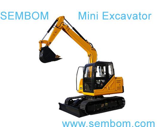 Multifunction Mini Excavator 7ton (SE70) for Farming, Civic Building, Gardening