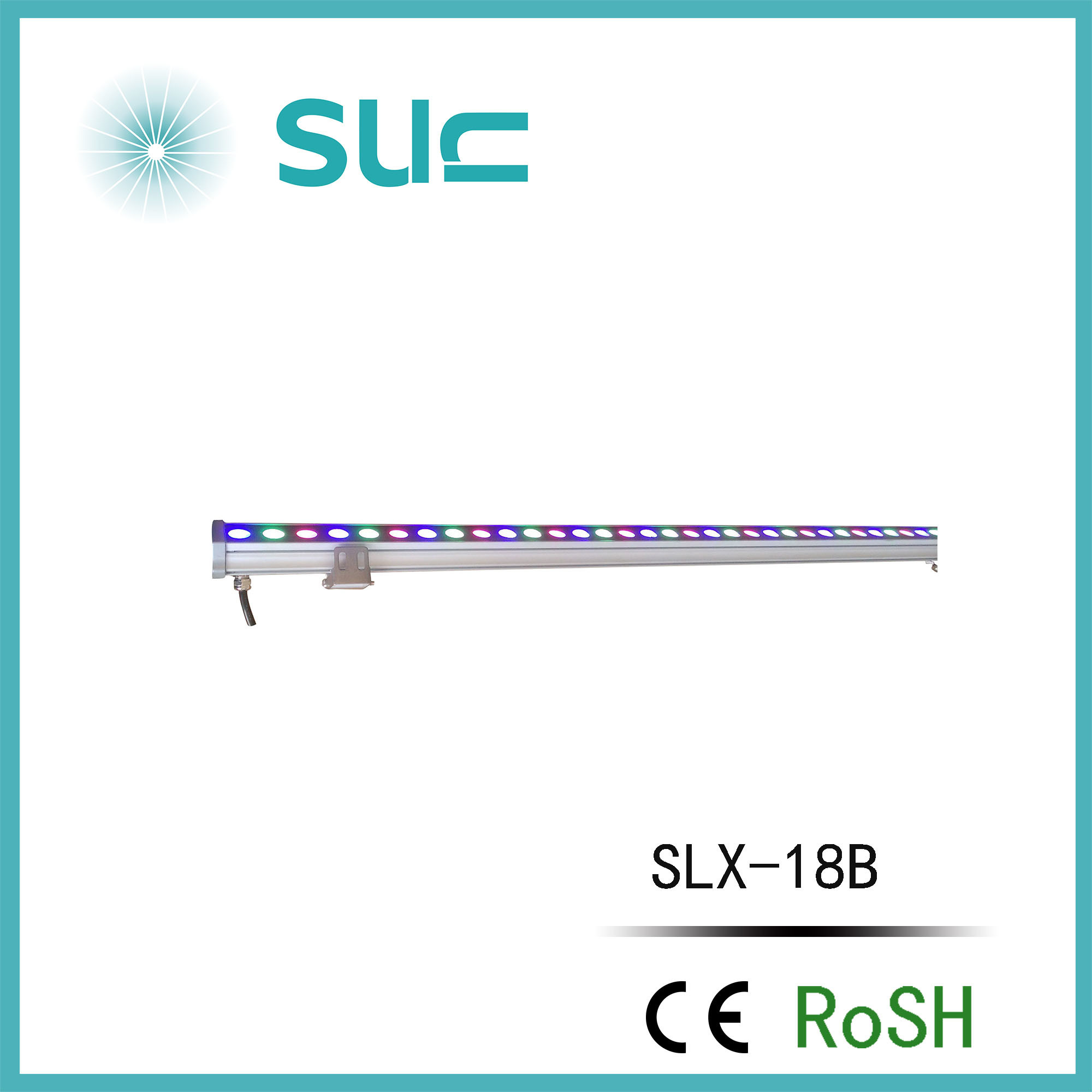 9W-36W IP65 Single/RGB LED Wall Washer