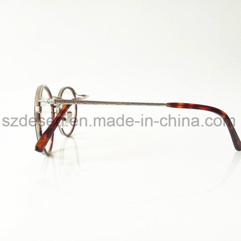 Newest Style Antique Round Frame Tortoise Shell Eyewear Optical Frame