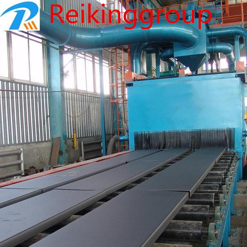 Steel Plate Screw Conveyor Type Shot Blasting Machine