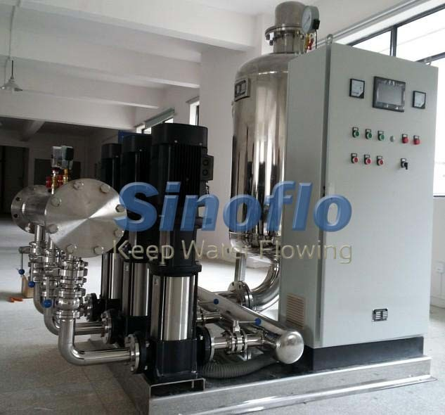 Vertical VFD Stainless Steel Constant Pressure Water Supply Pump System