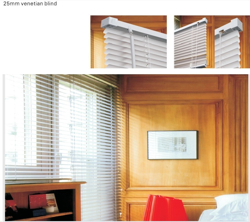 how to get a venetian blind down