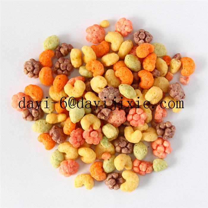 Cornflakes Snack Food Extruder Breakfast Cereal Machine
