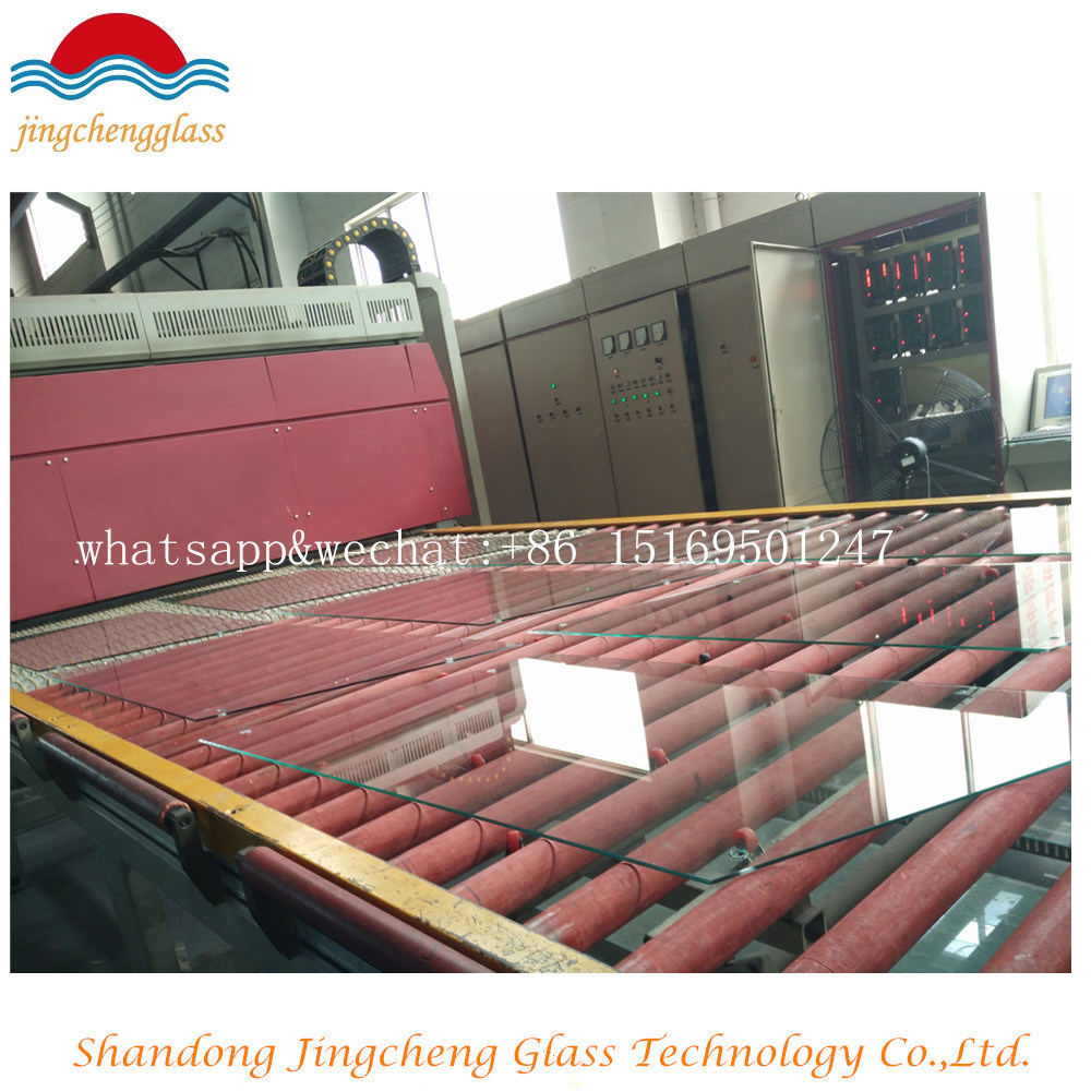 Thickness 3 mm-19 mm Skylight Tempered Glass