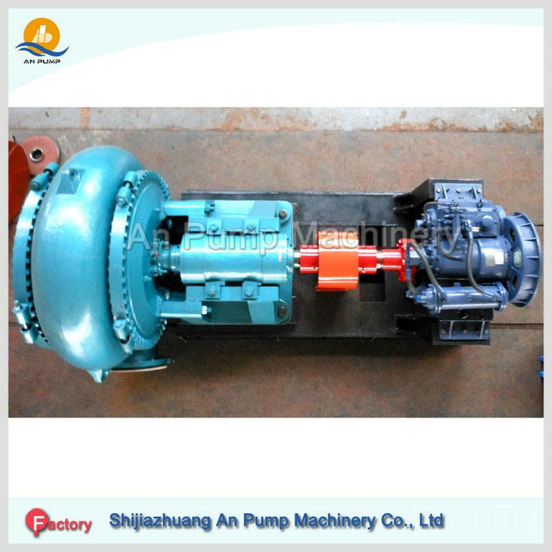 Amg Sand Gravel Pump Gear Box Connect Diesel Engine Driven