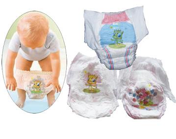 Pull up Baby Diapers Machine (JWC-LLK600-SV)