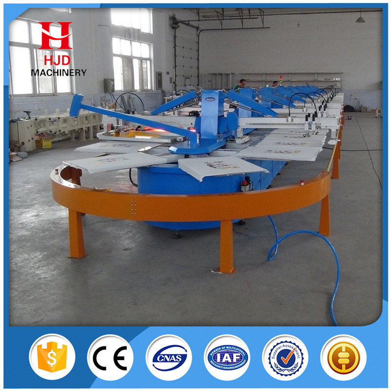 Touch Screen Automatic Textile Printing Machinery
