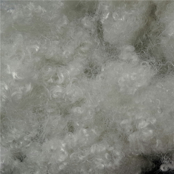 Polyester Staple Fiber Three-Dimensional Hollow Elastomer Fluffy Springback Is Good