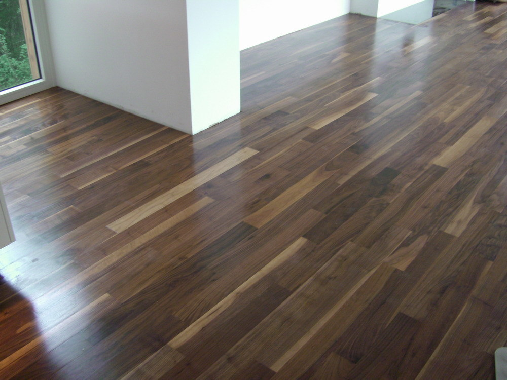 China 2 layers engineered walnut flooring china for Walnut hardwood flooring