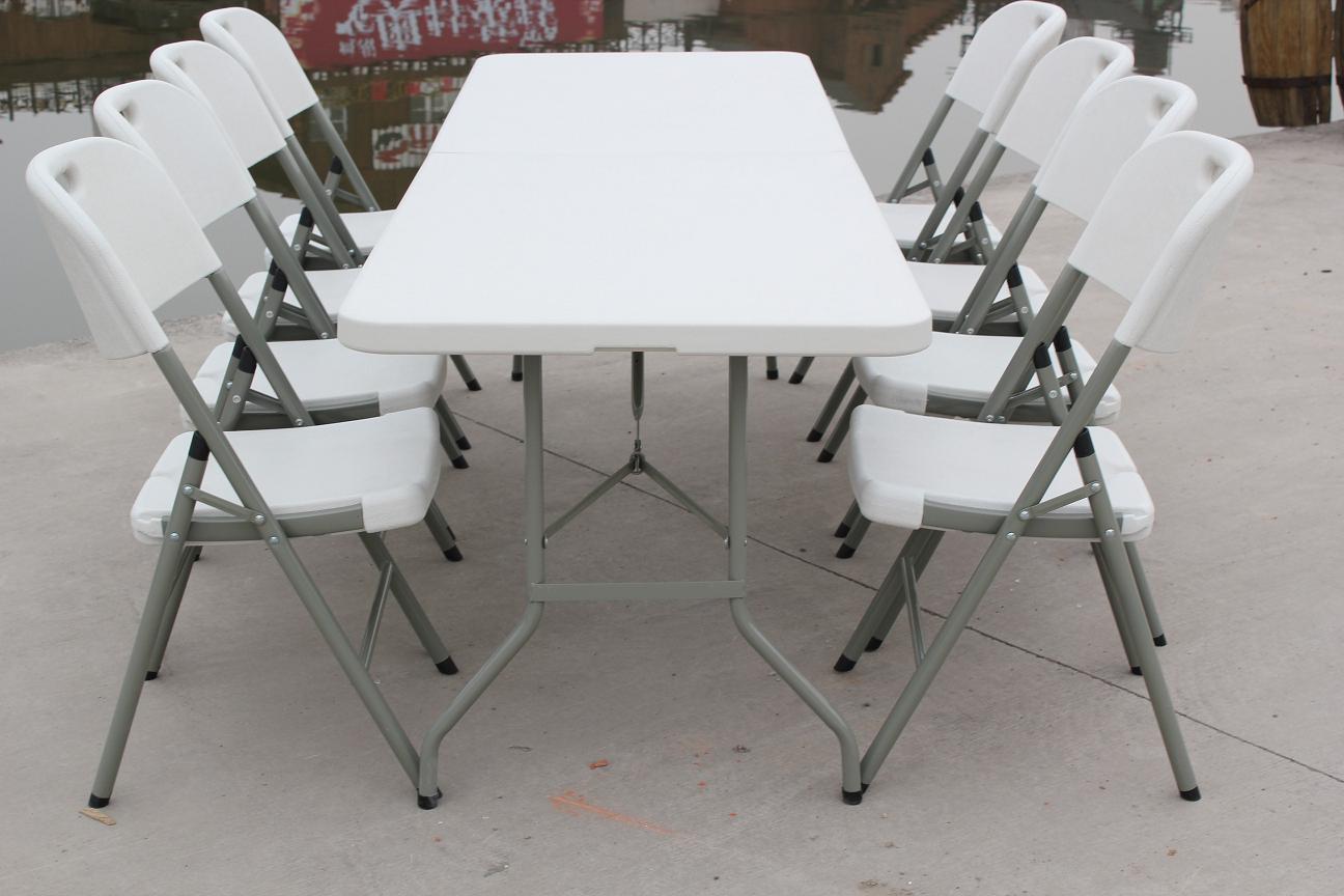 8 ft fold in half table - Rectangular Fold In Half Table Zhejiang Shangyi Furniture Co Ltd Page 1