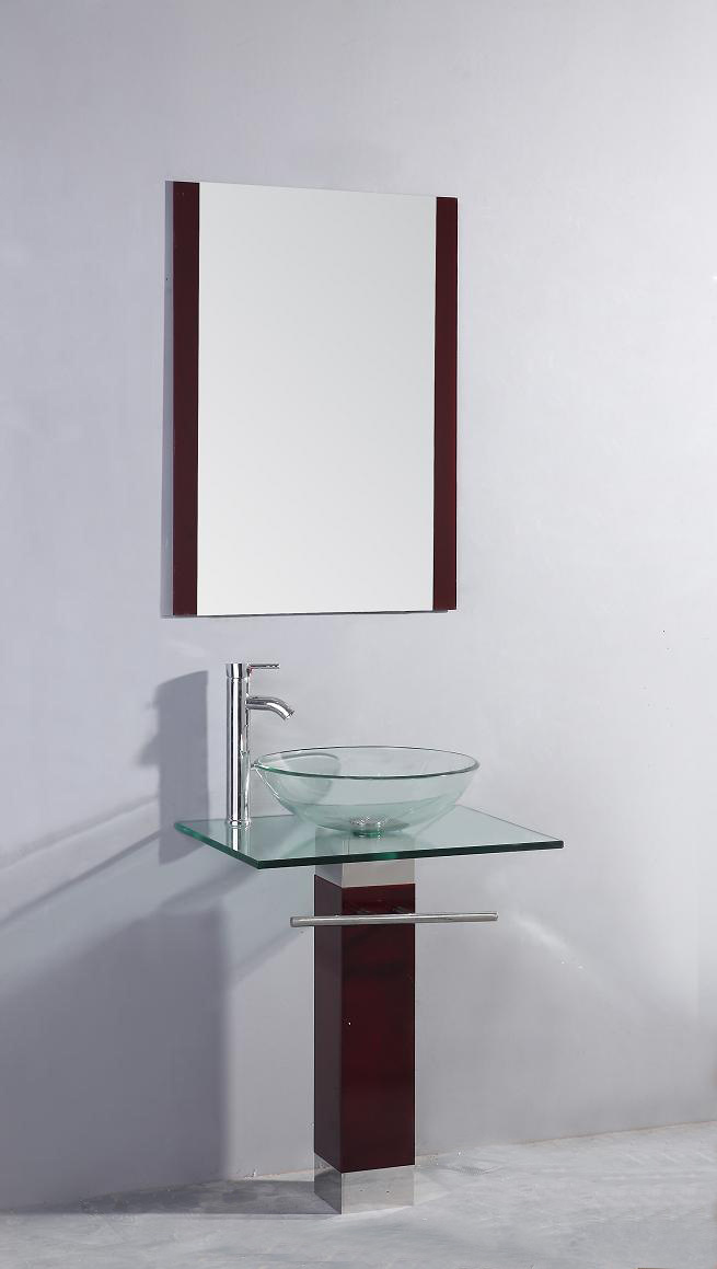 Modern Transparent Glass Basin (TB017)