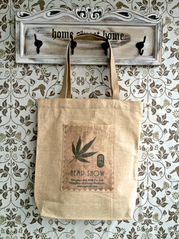 Eco-Friendly and Recycledhemp/Organic Cotton Shopping Bag (HOC)