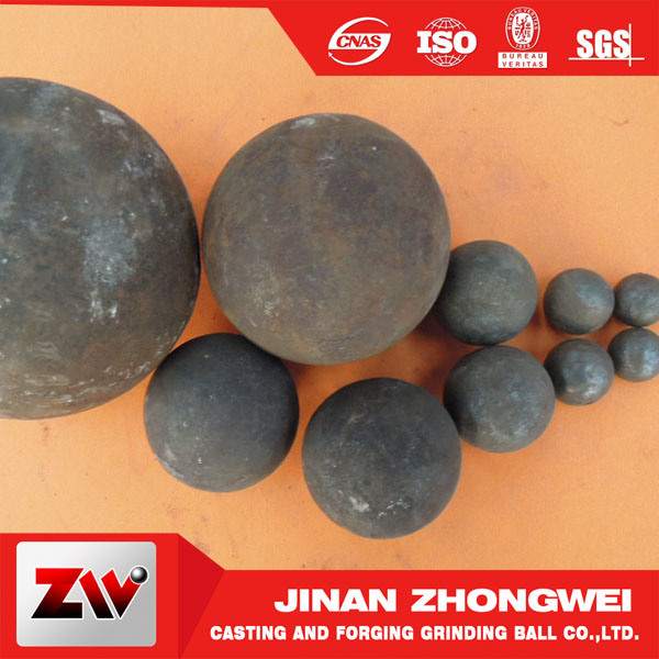2016 Hot Sale Forged and Cast Steel Grinding Balls