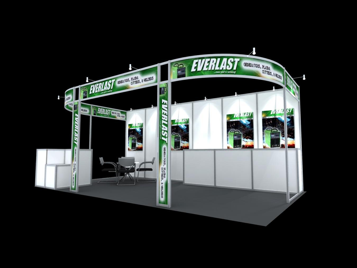 Exhibition Booth Accessories : China booth nkj trade show exhibition
