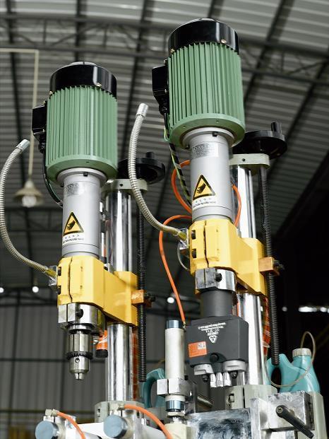 Aluminum Profile Pneumatic Multi-Head Drilling Machine (KT-368B)