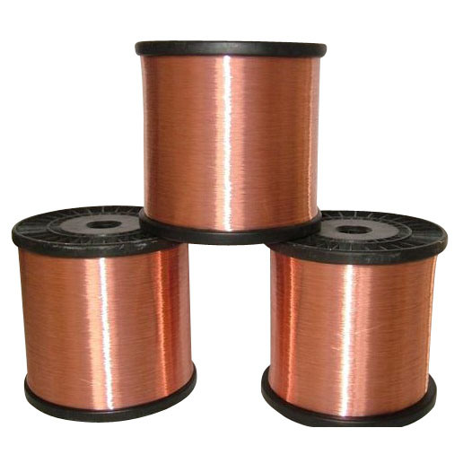 Copper Clad Material : China cable material copper clad steel ccs wire