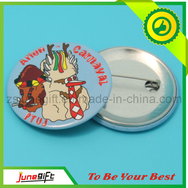 Custom Fashion Tin Badge/Button Badge for Gifts (JN-0126)