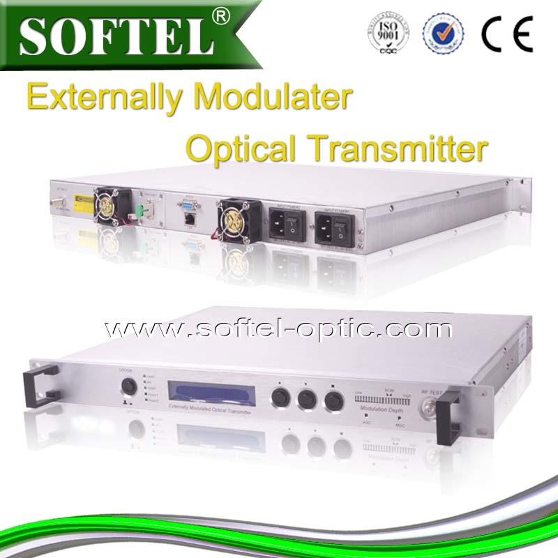 High Power Externally Modulated 1550nm Fiber Optical Transmitter