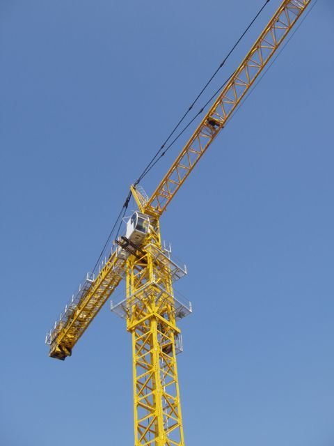 Tower Crane Productivity : T inner climbing tower crane gh china hydraulic