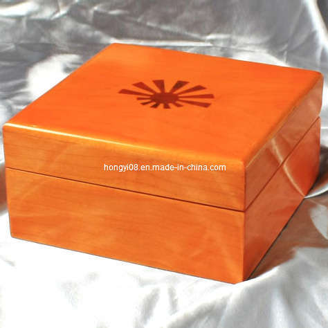 Elegant Colour MDF Wood High Gloss Lacquered Wooden Box (HYW013)