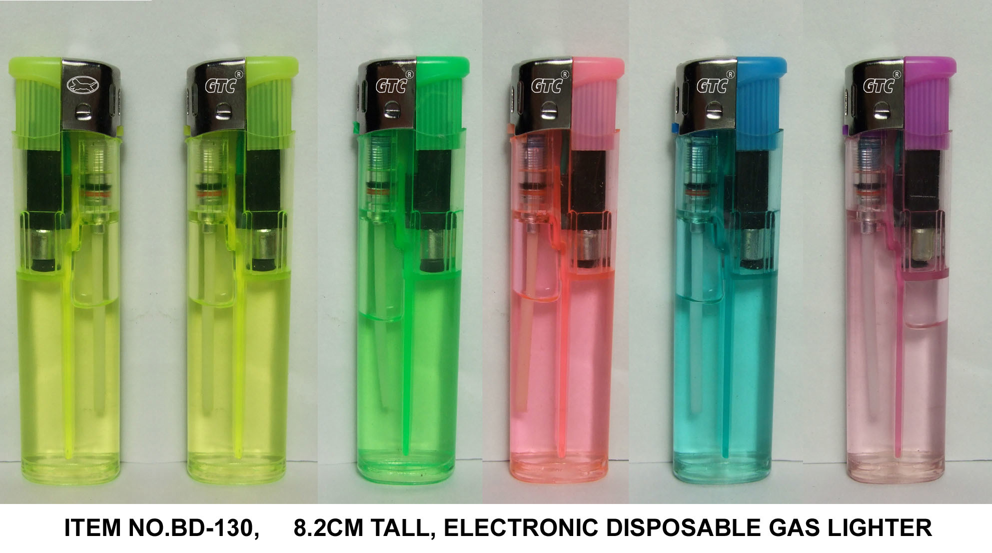 Electronic Disposable Gas Lighter (BD-130)