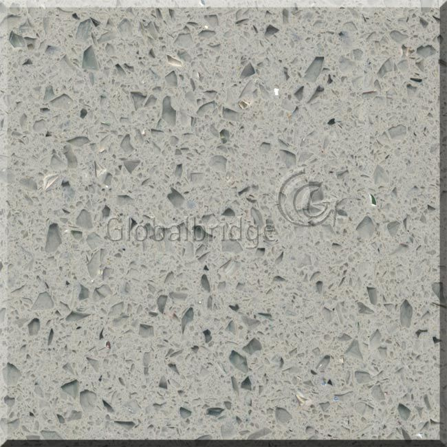 Verre et mirror color quartz stone pour wall et floor tile for Carrelage quartz