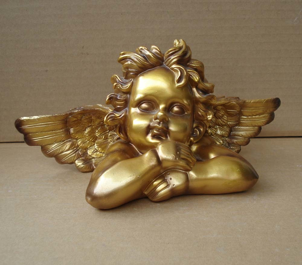 Polyresin Angel Sculpture