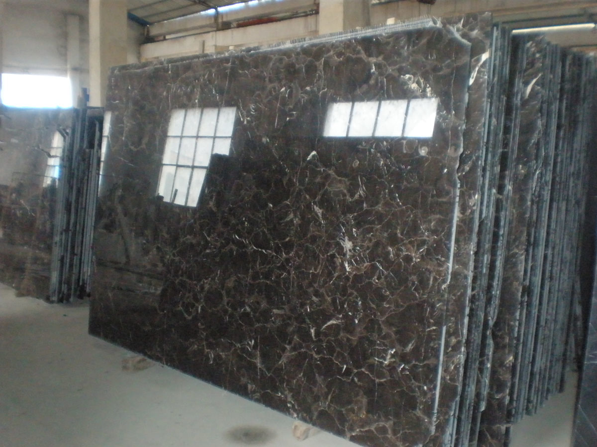 China dark emperador brown marble flooring tile rs 204 for Carrelage 80x80