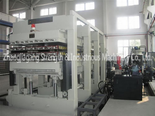 PSP Series Intermittent Sandwich Panel PU Foaming Line