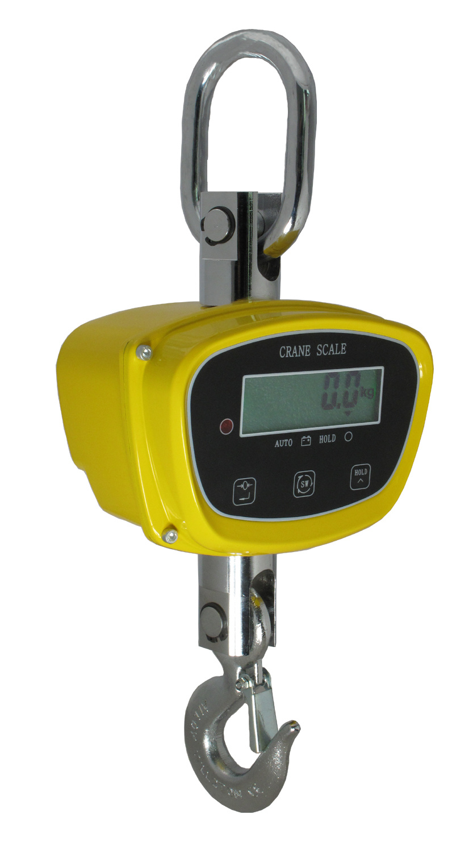 LCD Digital Crane Scales Ce Certificate 2000kg Rotated Hook