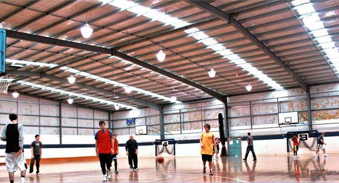 China Steel Structure Basketball Court Ss 33 Photos