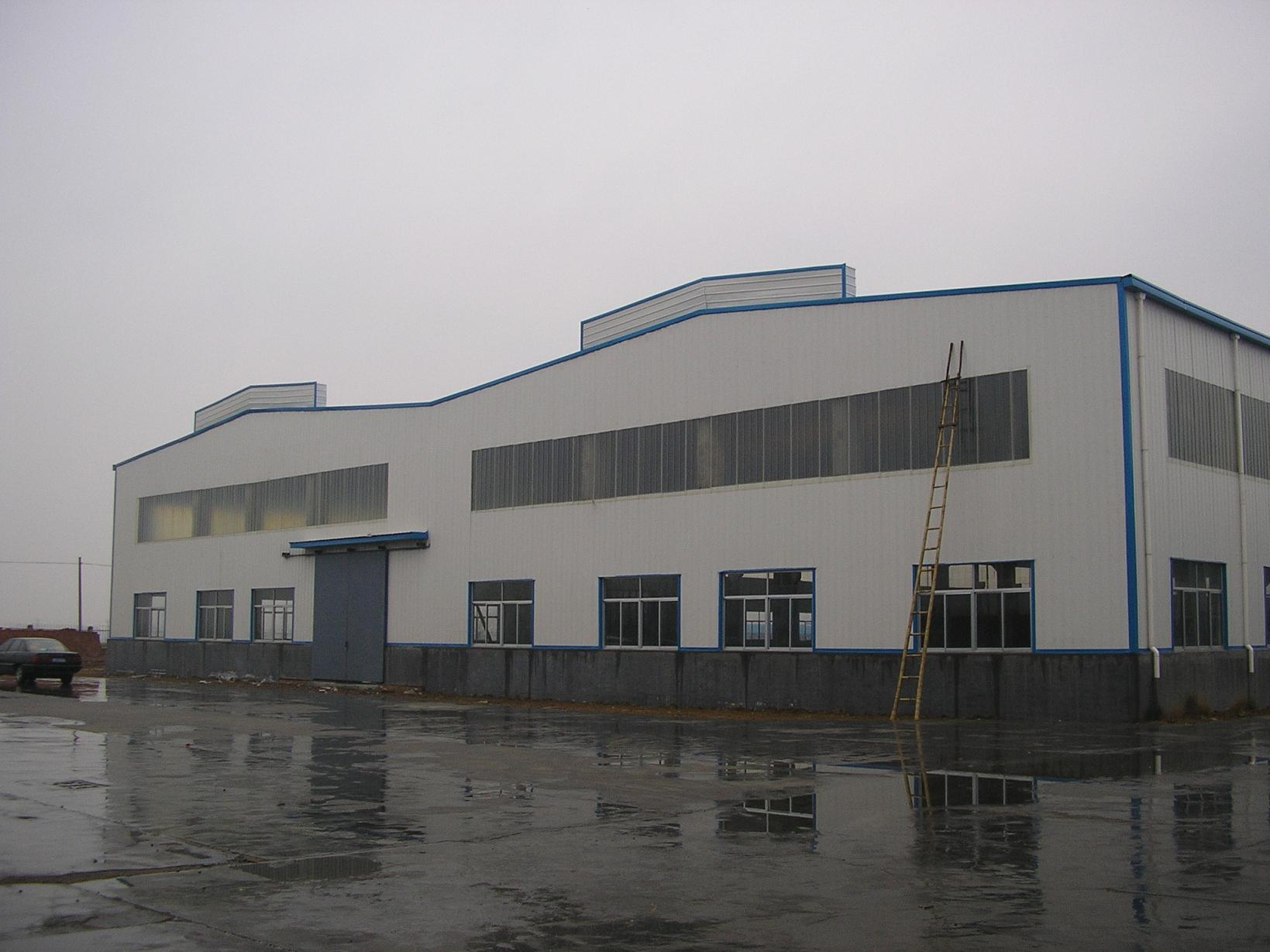 Long Life Span Prefabricated Steel Frame Storehouse From China