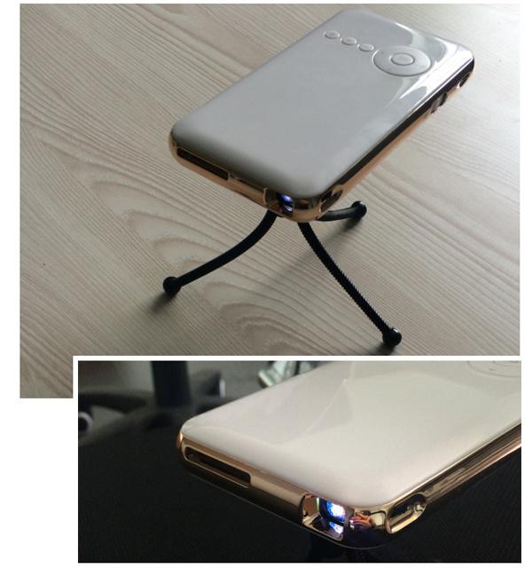 Hot Selling Mini Smart HD Projectors Support Micro USB Powered Mini LED Projector